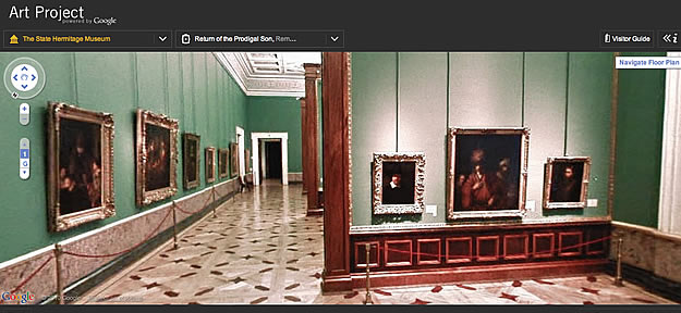 google art project musée de l'hermitage saint pétersbourg