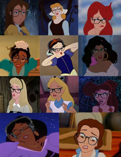 princesses disney lunettes