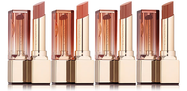 rouge hydra nude clarins neopastel