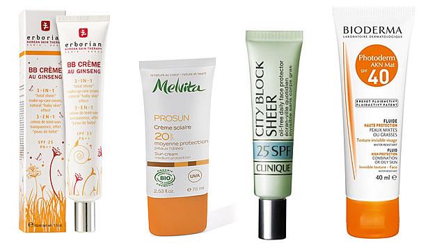 sélection protection solaire visage