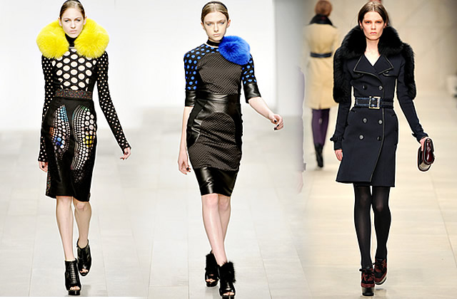Les tendances de la Fashion Week Londres 2011