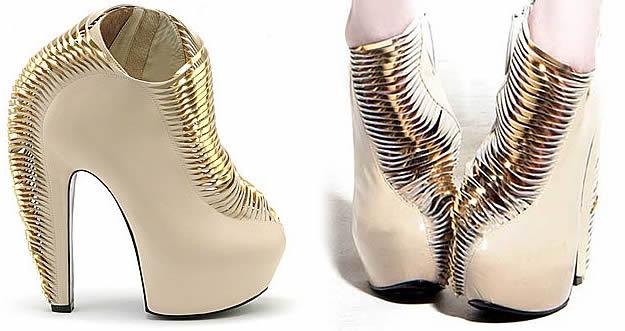 Les chaussures Crystallization de Iris Van Herpen iris van herpen synestesia