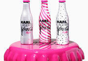 Karl Lagerfeld rempile pour Coca-Cola Light