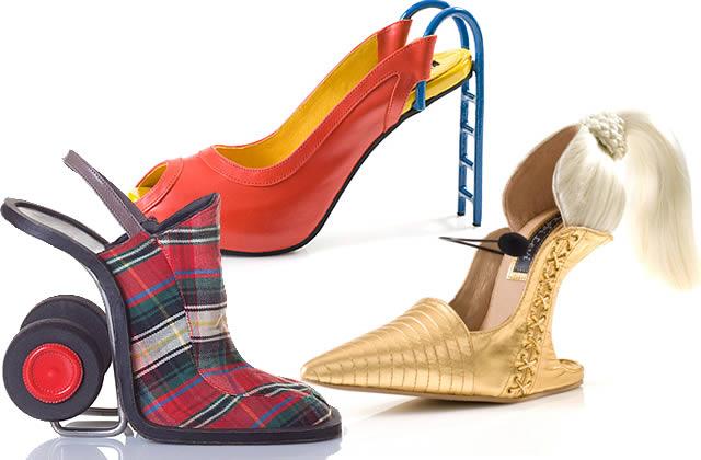 Mardi, C'est pas Permis ! : Kobi Levi, la chaussure-sculpture