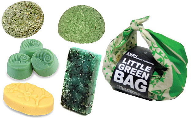 little green bag lush