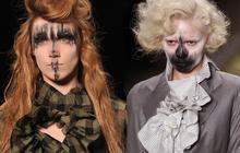 Les make-ups chelous des défilés de la Fashion Week
