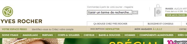 Le SAV des VPC : les géants français yvesrocher