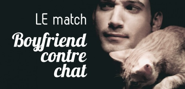 Boyfriend contre chat : le match !