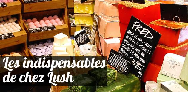 Les indispensables de chez Lush