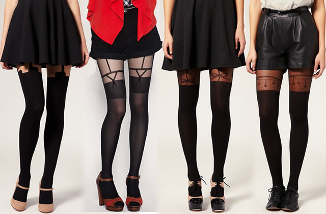 Bas ou collants : un compromis ?