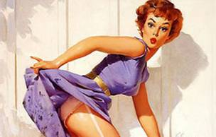 Lien permanent vers L'origine des dessins de pin-ups en photo