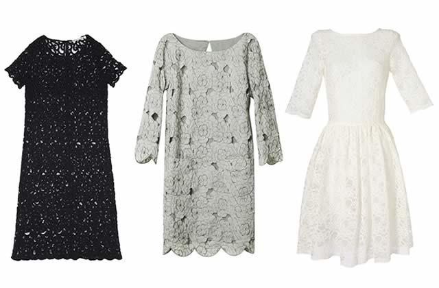 La robe guipure : la dentelle du printemps/été 2011