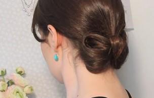 Lien permanent vers Tuto coiffure : un chignon noeud
