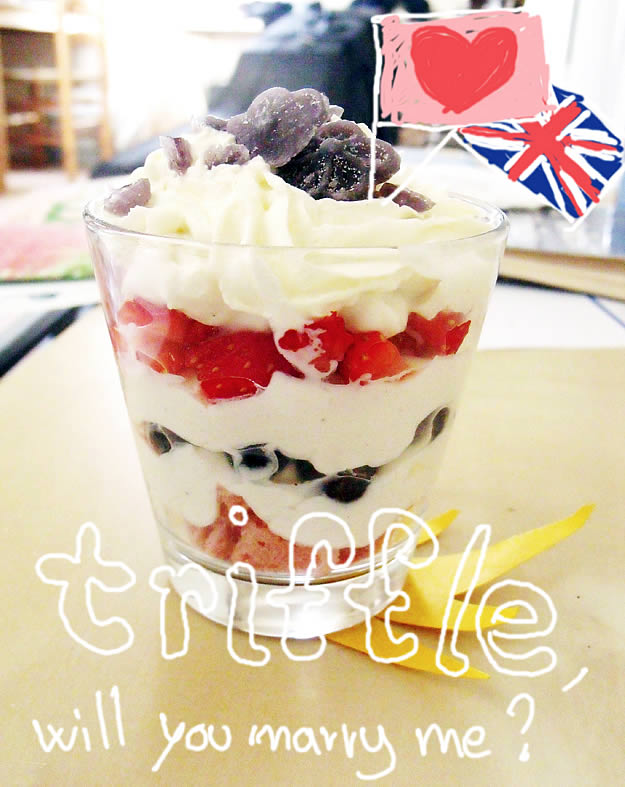 wedding trifle