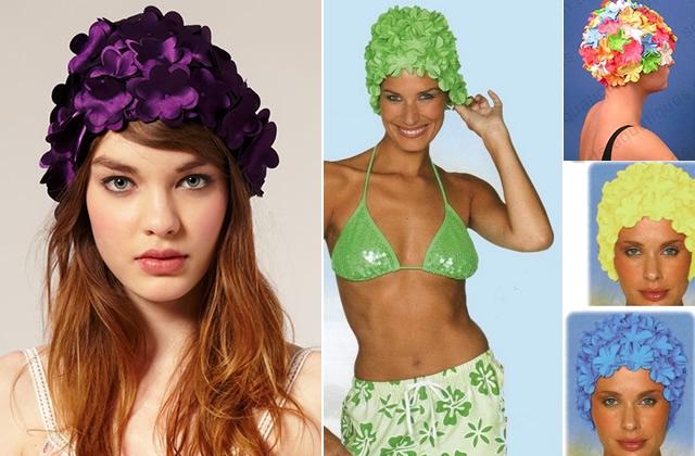 bonnet de bain Mardi, Pas Permis : détournements de chapeaux
