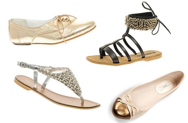 De la chaussure qui brille, sinon rien