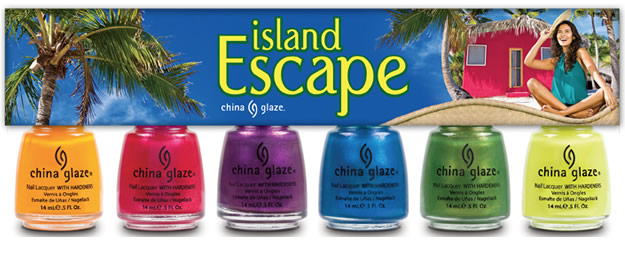 Tendances vernis à ongles Été 2011 china glaze island escape