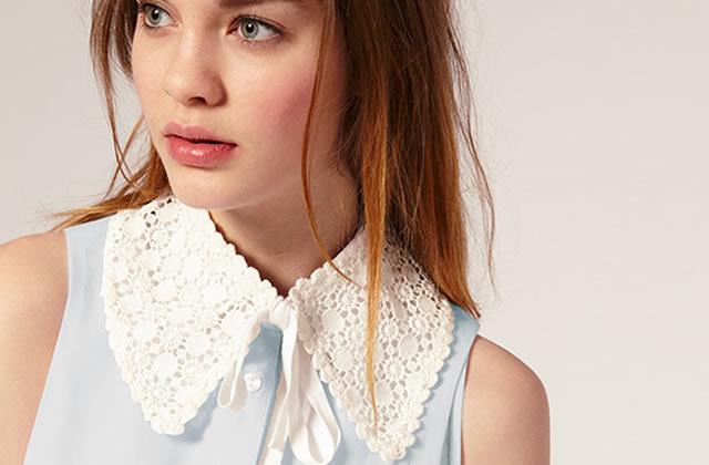 Col Claudine, colerette & co : les blouses de petites filles