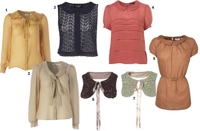 Col Claudine, colerette & co : les blouses de petites filles cols claudine