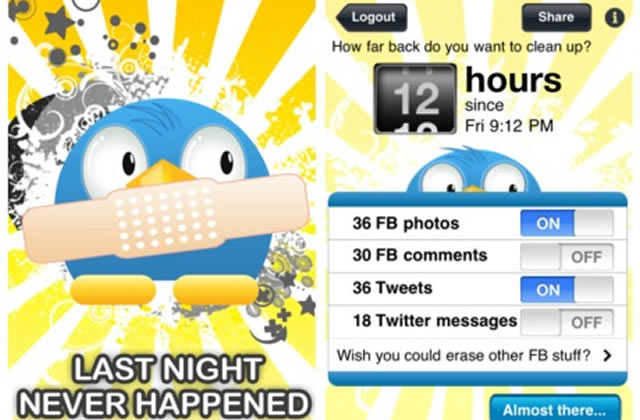 Last Night Never Happened, l'application qui annule tes bêtises alcoolisées
