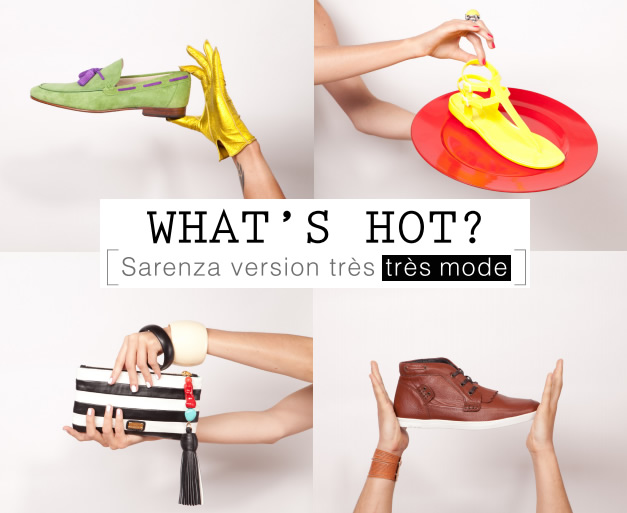 Whats Hot ? Le nouvel espace mode Sarenza whats hot sarenza