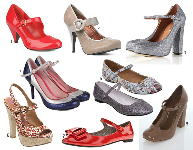 Tendance chaussures   Babies et Mary Jane babies et mary jane baby doll
