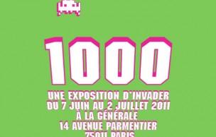 Lien permanent vers Invader 1000, l'expo du moment à La Générale