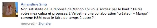 mango sujet forum3 Mango vs Velvetine : retour sur un BAD BUZZ