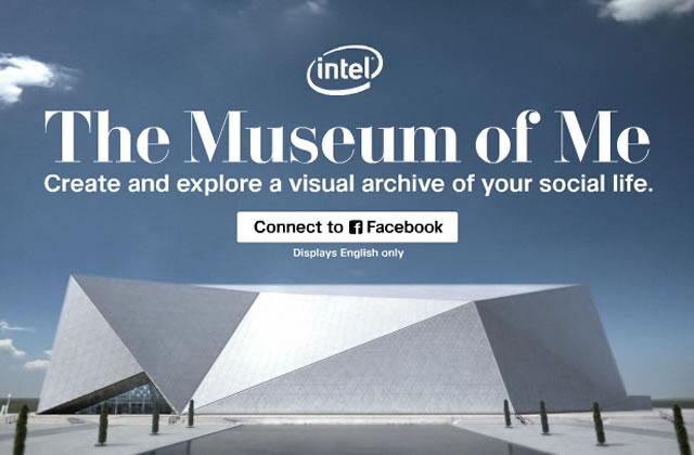 The Museum of Me : l'exposition de ton compte Facebook