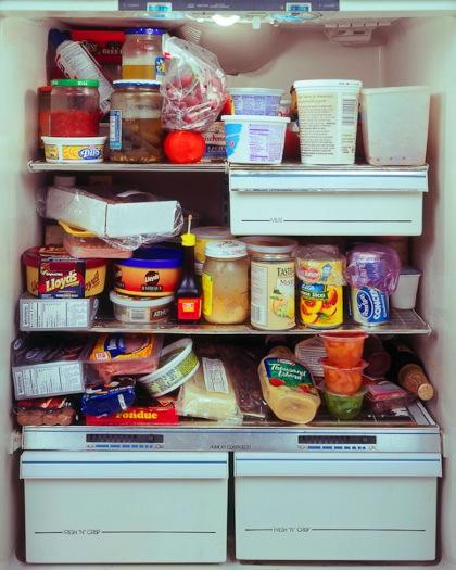 161 Vous êtes ce que vous mangez, des photos de frigos américains