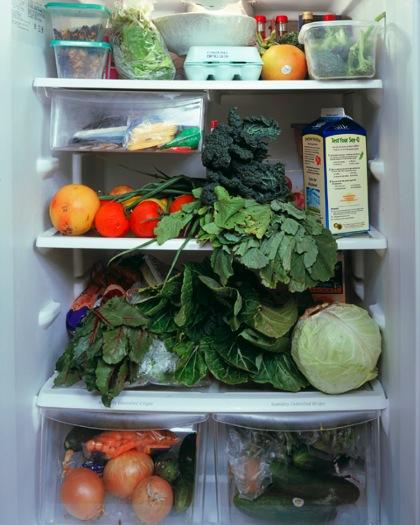 18 Vous êtes ce que vous mangez, des photos de frigos américains