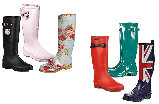 Sélection de bottes de pluie pour été humide