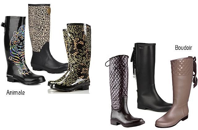 bottes pluie 1 Sélection de bottes de pluie pour été humide