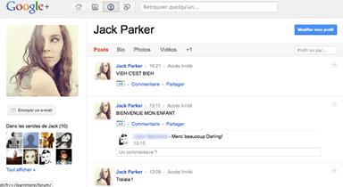 screen google plus 2 Google+ est arrivé !... et on ny comprend rien