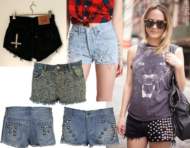 Le short clouté shorts clous2
