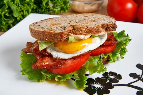 Tumblr de la Semaine : Fuckable Food Avocado BLT with Fried Egg and Chipotle Mayo 500 7704