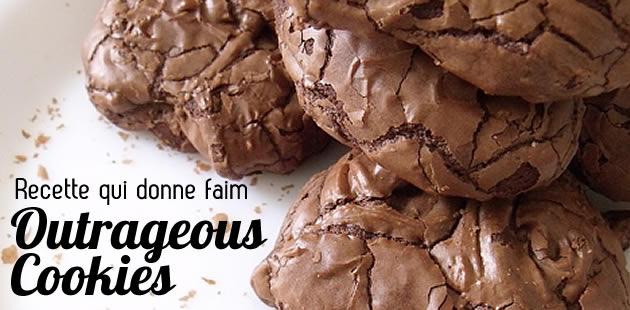 Outrageous Cookies, la recette