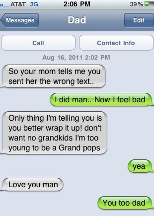 Parents Shouldnt Text : les SMS parents enfants les plus drôles Image 16