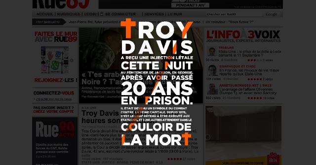 Image 32 La dernière lettre de Troy Davis