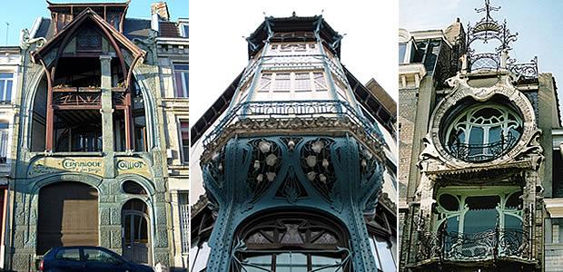 L 39 art nouveau courbes nature et couleurs for Maison saint jean lille