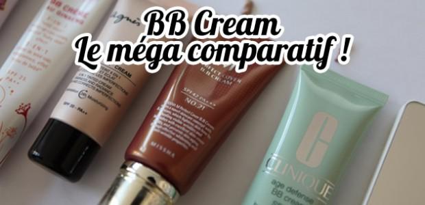 BB Crèmes (BB Creams) : le méga-comparatif