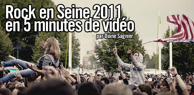 Rock en Seine 2011 vu par Diane Sagnier