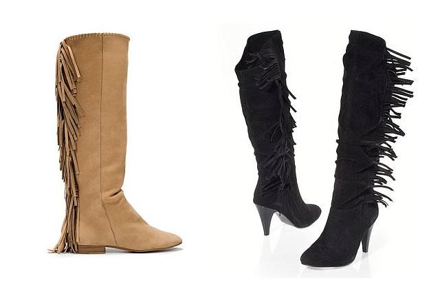 Les bottes frangées Isabel Marant – Le même en moins cher