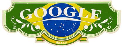 brazil day 2011 hp 13 ans de Doodle Google