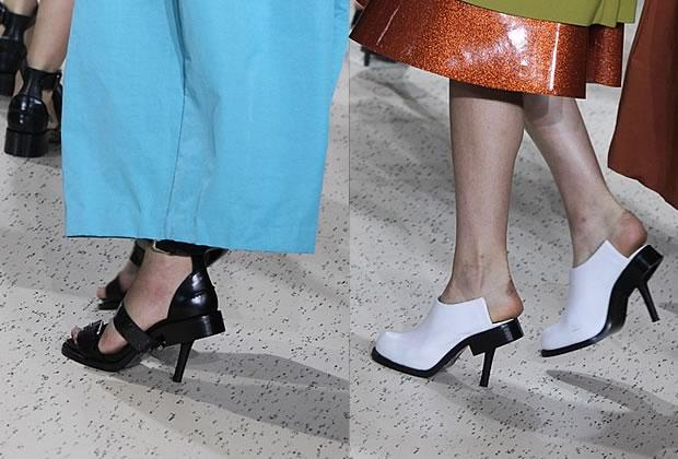 chaussures acne Les chaussures hybrides dAcne Printemps Été 2012