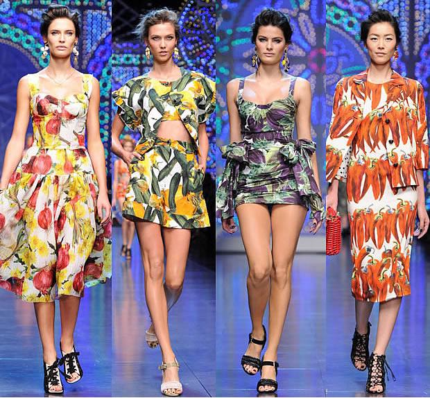 Dolce & Gabbana ouvre un potager pour le Printemps Été 2012 dolce gabbana printemps ete 2012