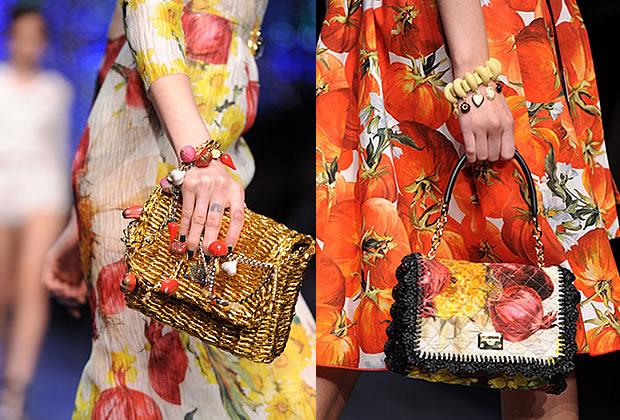 dolcegabbanalégumes Dolce & Gabbana ouvre un potager pour le Printemps Été 2012