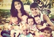 Lien permanent vers Justin Bieber et Selena Gomez adoptent six enfants