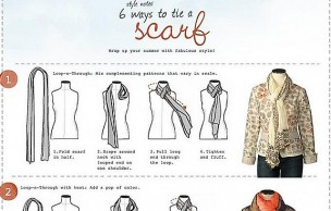Lien permanent vers 6 manières de nouer son foulard
