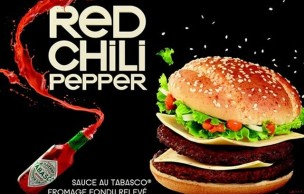 Lien permanent vers Red Chili Pepper de chez Mc Donald's : le test
